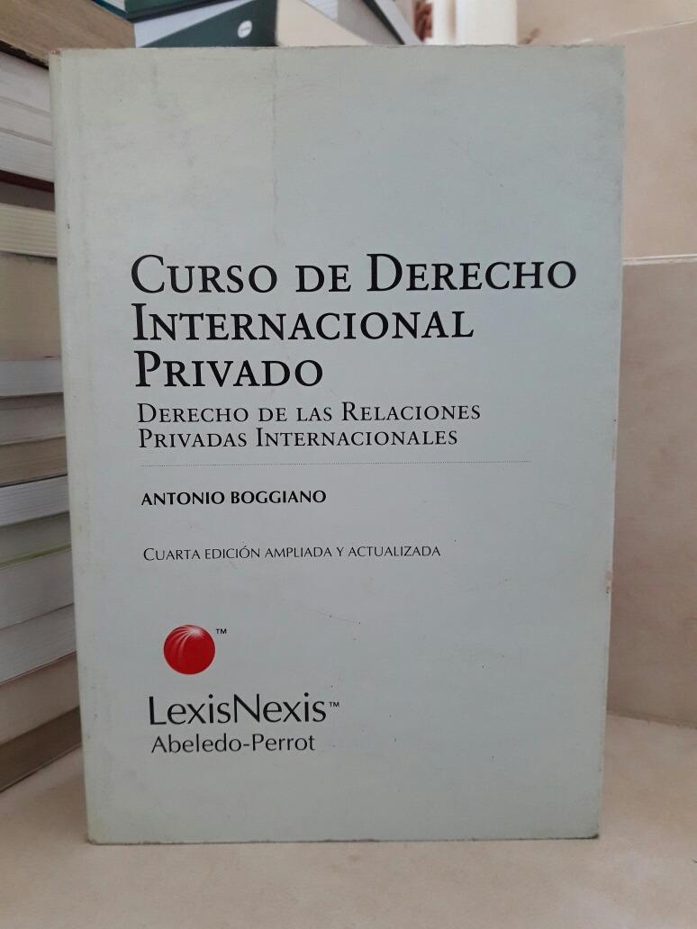 boggiano antonio derecho internacional privado