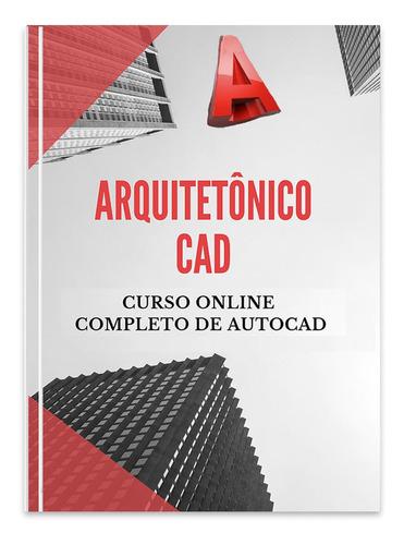 curso desenho projeto arquitetônico cad