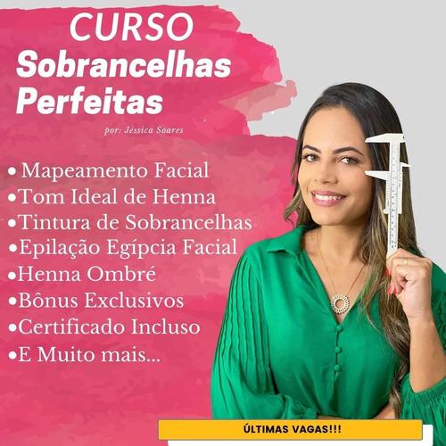 curso design de sobrancelhas - profissional
