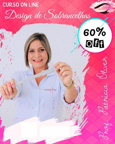curso design sobrancelha 100% on-line