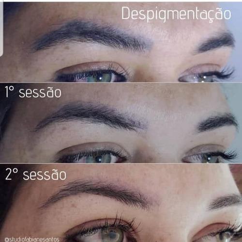 curso despigmentação ácida de micropigmentação