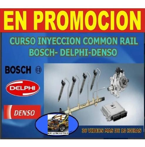 curso diesel common rail boch delphi denso