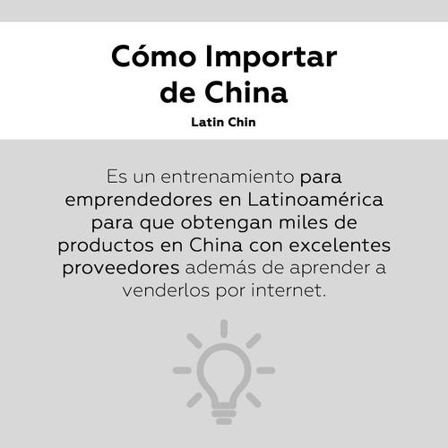 curso dropshipping cómo importar de china