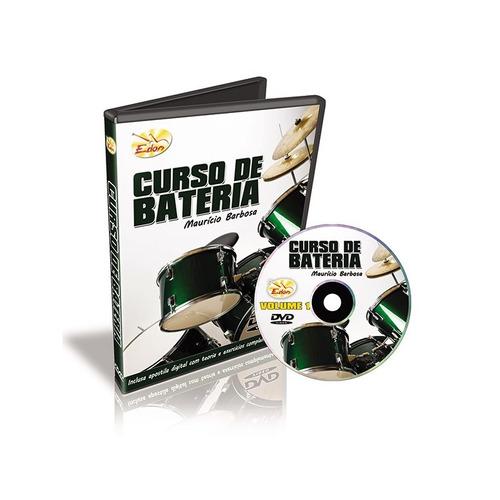 curso dvd video aula bateria mauricio barbosa volume 2