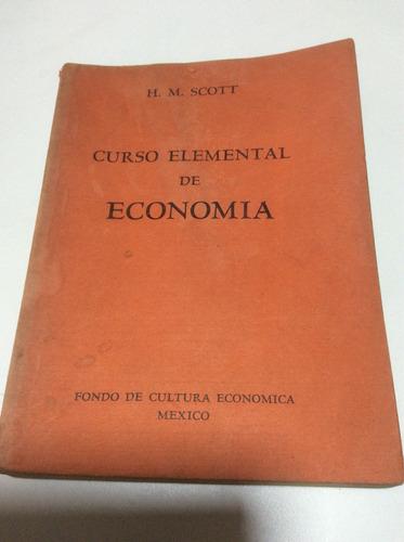 curso elemental de economía h.m scott