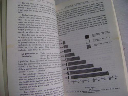 curso elemental de psicología - josé m. velazquez