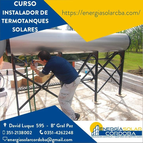 curso energía solar térmica 2 - instalador colectores solar