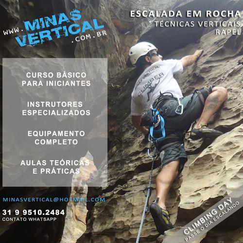 curso escalada em rocha