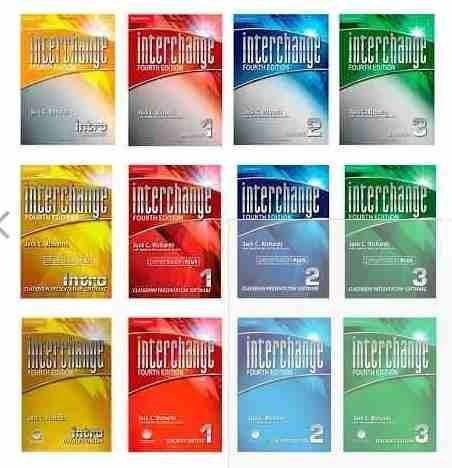 curso inglês interchange 4th ed. com teacher's' book