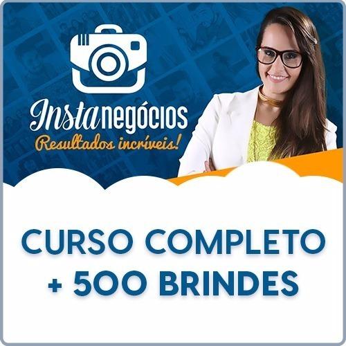 curso instanegocio + 1000 cursos brindes 2017