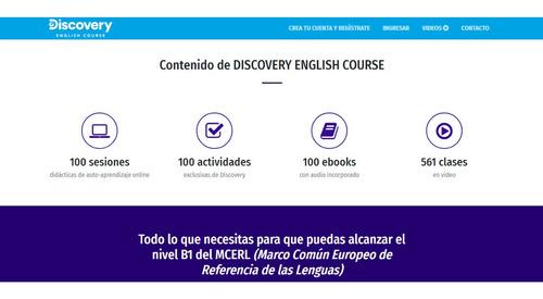 curso interactivo de ingles discovery channels