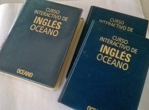 curso interactivo de ingles oceano - 2 tomos + cds
