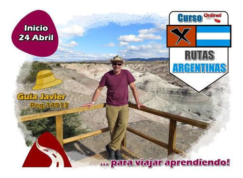 curso interpretativo: rutas argentinas . on-line!