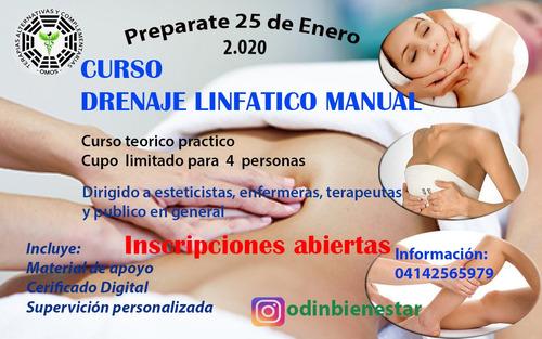 curso masajes  / atención al paciente terapias alternativas