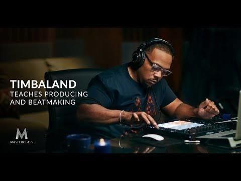 curso másterclass timbaland music production