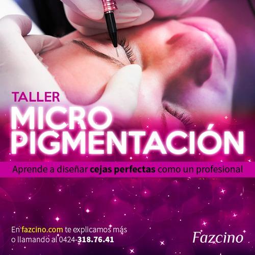 curso micropigmentación de cejas 3d. microblading