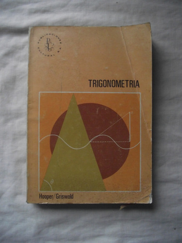 curso moderno trigonometría: hooper - griswol - envío gratis