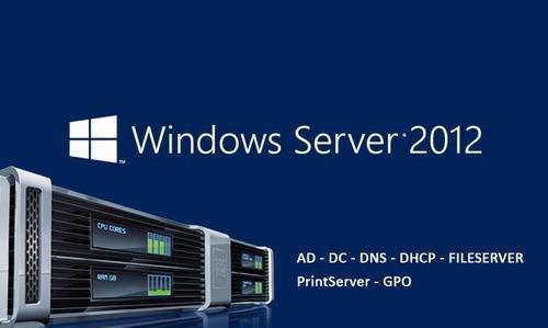 curso monte um servidor completo com windows server 2012