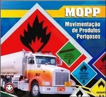 curso mopp (movimentação cargas perigosas)