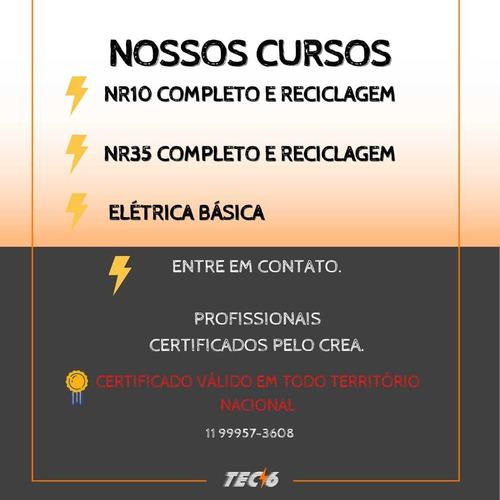 curso nr10 com certificado em 24h