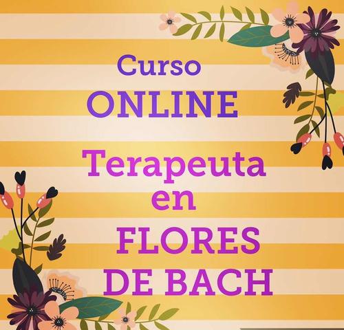 curso on line terapeuta en flores de bach