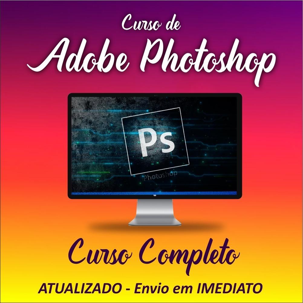 Curso Online Adobe Photoshop Cs6 Aprenda Edicao De Imagens R 34