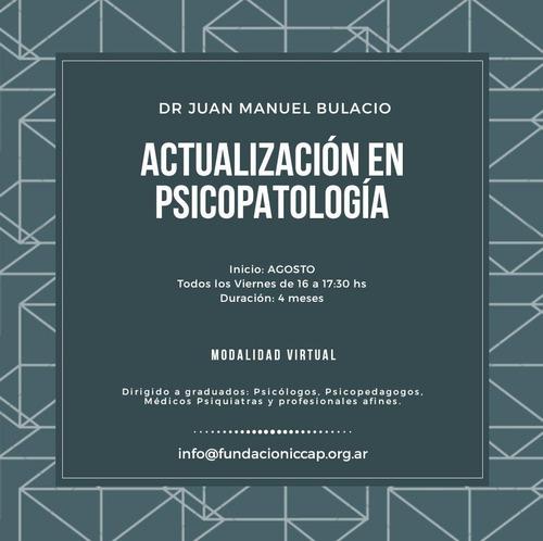 curso online de actualización en psicopatología