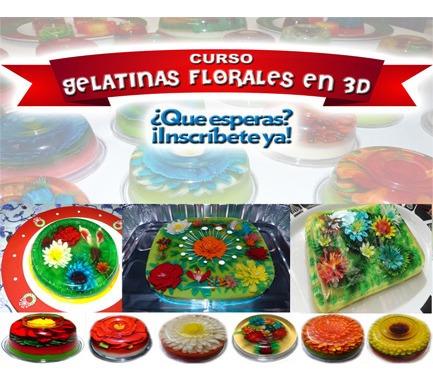 curso online de de gelatinas florales 3d artesanales