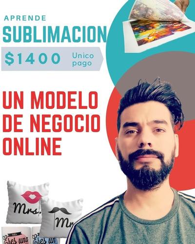 curso online de sublimacion, diseño, ventas y termoestampado