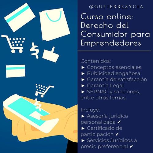 curso online derecho del consumidor, pymes y emprendedores