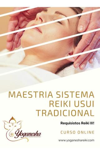 curso online maestría sistema reiki usui tradicional