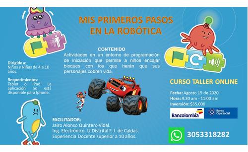curso online: mis primeros pasos en la robótica