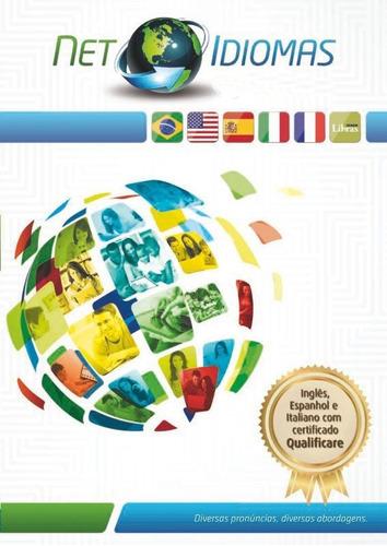 curso online net idiomas - produto exclusivo loja new line