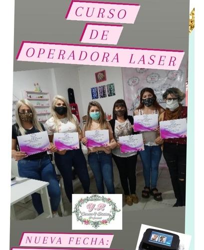 curso, operadora laser, soprano, depilacion definitiva