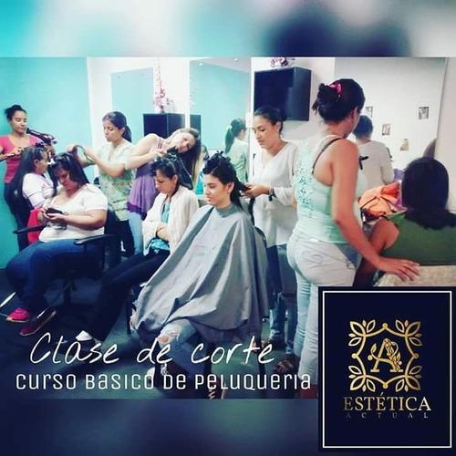 curso peluqueria basica y avanzada y barberia basica