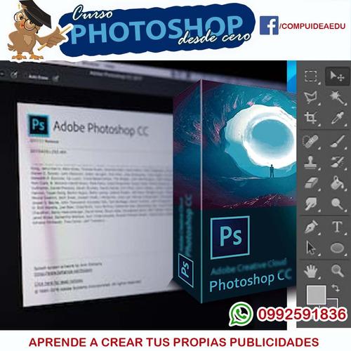 curso photoshop mejora tú publicidad y fotos febrero 2020