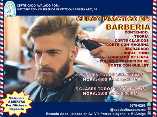curso practico de barbería