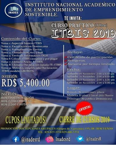 curso practico de itbis 2019