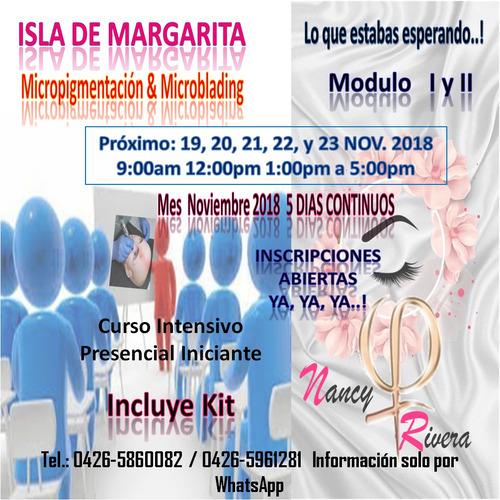 curso presencial iniciante micropigmentacion y microblading