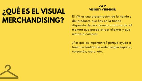 curso presencial o a distancia de visual merchandising