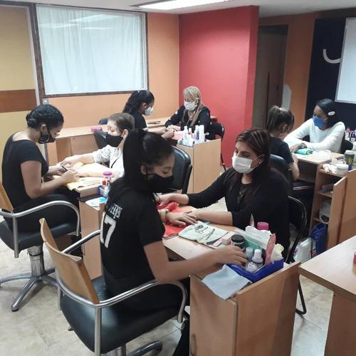 curso profesional de uñas manicura, acrílico en caracas