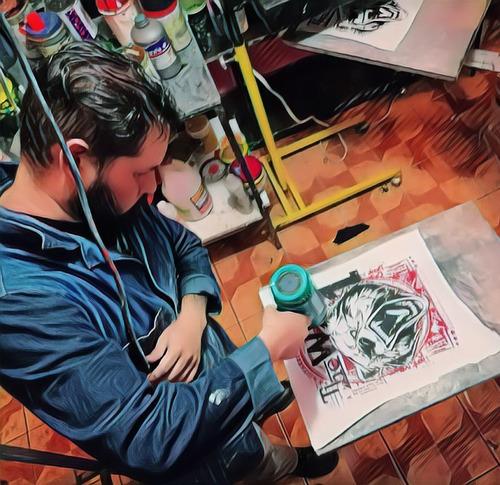 curso profesional serigrafia sublimacion viniles textiles