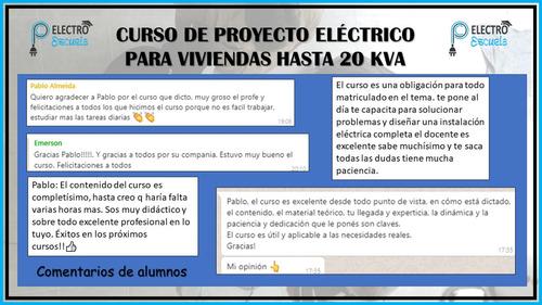 curso proyecto electrico aea 770 20 kva viviendas