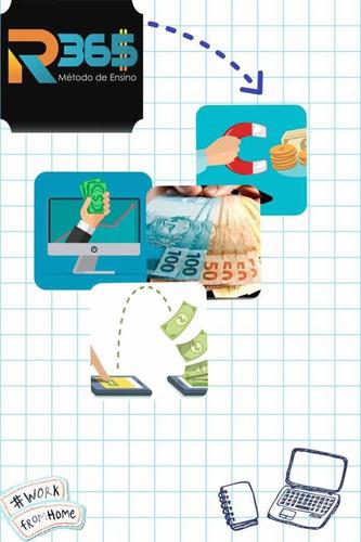 curso remunera 365, ganhe dinheiro em casa