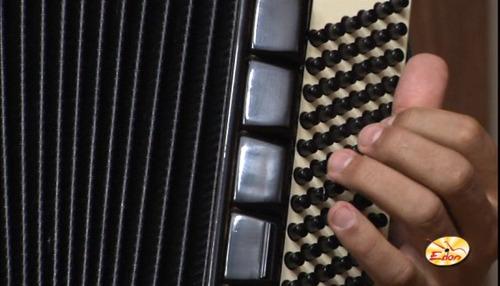 curso repertório acordeon sanfona em dvd - volume 5 - edon