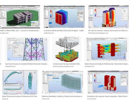 curso robot structural especialización - autodesk