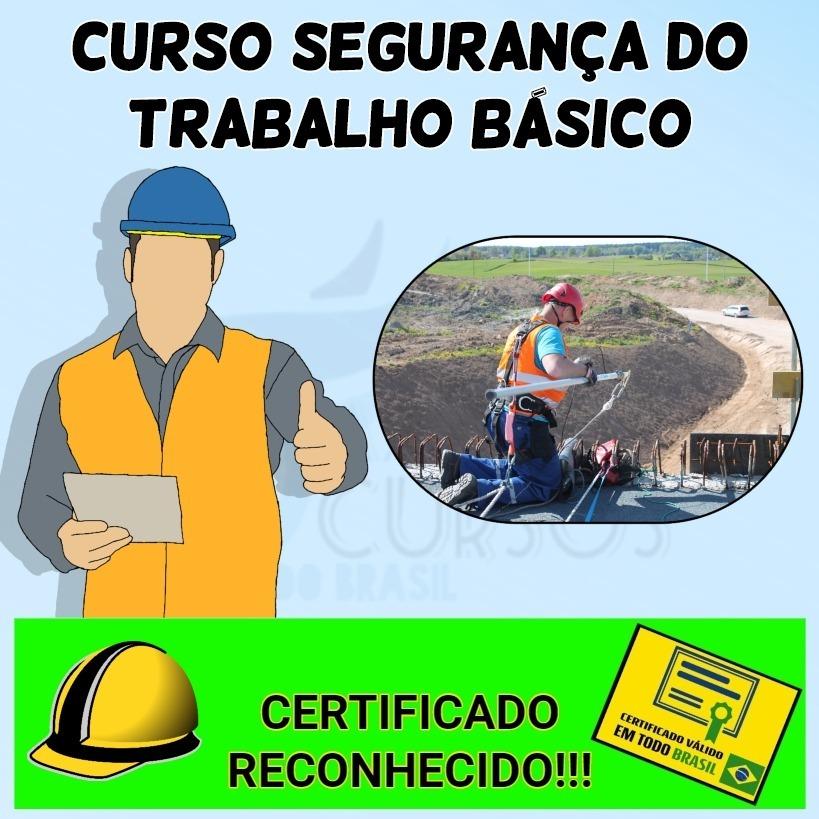 050fb6dd5457a curso segurança do trabalho básico - certificado reconhecido. Carregando  zoom.