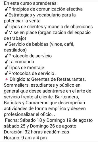 curso servicio empresarial