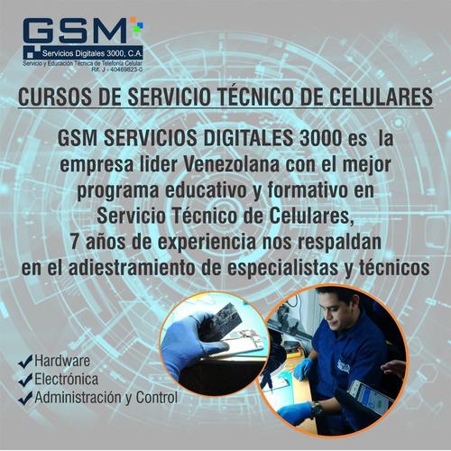 curso servicio técnico celulares (curso oficial)