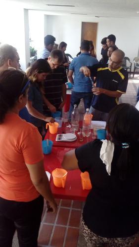 curso taller de fabricación de productos de limpieza ultra